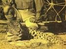 Slovutný lovec Corbett s obávaným leopardem - zabijákem