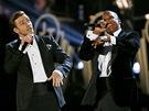 Grammy za rok 2012 - Justin Timberlake a Jay-Z