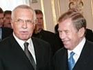 Václav Klaus a Václav Havel