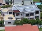 Dům, ve kterém atlet Oscar Pistorius zastřelil svojí přítelkyni Reevu. (14.
