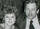 Jitka Vodňanská a Václav Havel