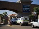Dům jihoafrického atleta Oscara Pistoriuse, kde zastřelil svou přítelkyní,