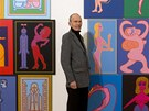 Pavel Brázda zahájil 11. února 2013 v Obecním domě svoji výstavu Lidská komedie