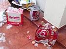 Dánští studenti demolovali zařízení hotelu značně posilněni alkoholem.