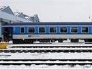 V šumperském podniku Pars nova představili modernizovaný železniční osobní vůz...