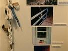 Jedním z hlavních lákadel nové výstavy Mírov - pohled je lano spletené z