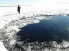 KRÁTER. Největší meteorit, který od roku 1908 zasáhl Zemi, dopadl zřejmě do