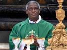 Ghanský kardinál Peter Turkson by se mohl stát prvním papežem černé pleti.