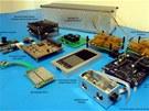 Součásti satelitu Strand-1