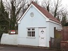 Malý domek široký čtyři metry byl původně garáží.