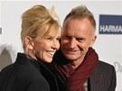 Sting a jeho man�elka Trudie Stylerov�