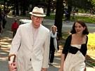 Steve Martin a jeho manželka Anne Springfieldová (2009)