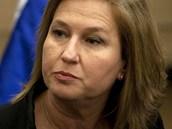Bývalá izraelská ministryně zahraničí Cipi Livniová na archivním snímku z roku