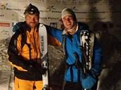 Vítězná dvojice ve složení Tomáš Petreček a Roman Šinkovský zvládla závod v
