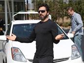 Sergey Brin chv�l� Google auto bez �idi�e