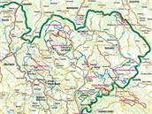 Upravované trasy v Kladském pomezí na Náchodsku.