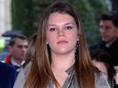 Dcera monack� princezny St�phanie Camille Gotliebov� (20. ledna 2013)