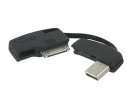 S iGo KeyJuice můžete díky USB nabíjet a přenášet data zároveň