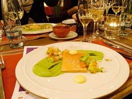 La Veranda představila jako mistrovský kousek šéfkuchaře marinovaného