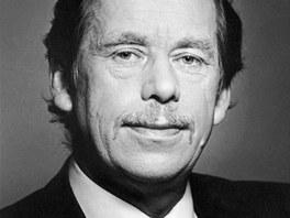 Václav Havel na prezidentském portrétu