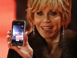 Herečka Jane Fonda na festivalu Berlinale 2013