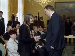 Mezi oceněnými je i Dana Němcová, signatářka Charty 77 a lidskoprávní