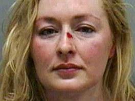 Mindy McCreadyová na vězeňském snímku