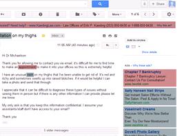 Microsoft na příkladech ukazuje, jak Gmail cílí reklamy