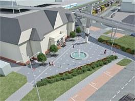Dopravní terminál v Uherském Brodě bude mít moderní vzhled.