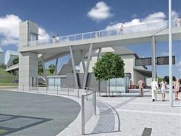 Dopravní terminál v Uherském Brodě má začít vznikat letos, zřejmě v srpnu.