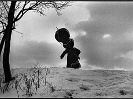 Snímek z fašanku pochází z Velké nad Veličkou z roku 1985, Šilpoch však fotí