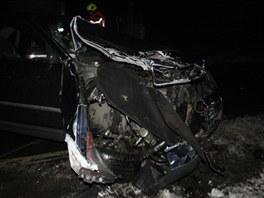 Auto vjelo v Přerově navzdory varovné signalizaci na přejezd ve chvíli, kdy