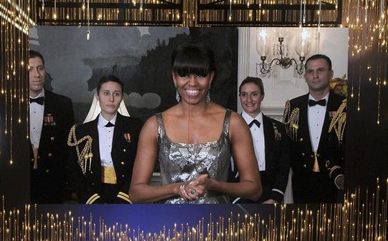 Oscar 2013 - Michelle Obamov� vyhla�uje film roku