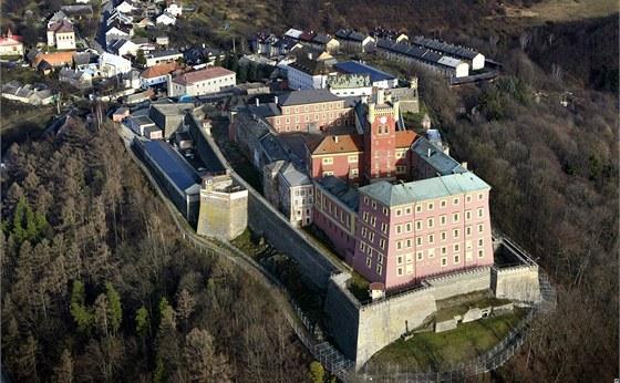 Věznice Mírov na Šumpersku, odkud Kajínek utekl.