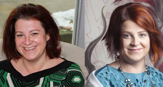 Simona před a po proměně