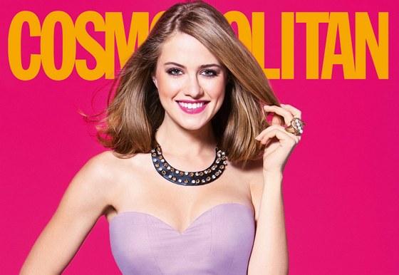 Emma Smetana na obálce Cosmopolitanu
