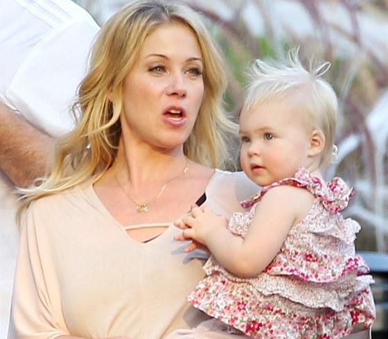 Christina Applegate s dcerou Sadie