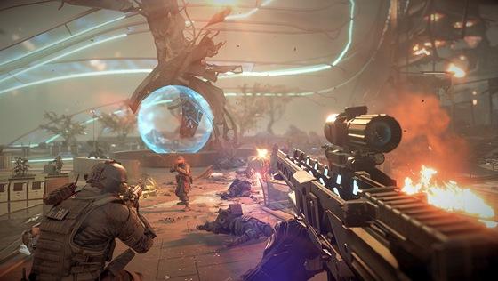 Obrázek z připravované hry Killzone: Shadow Fall pro PlayStation 4