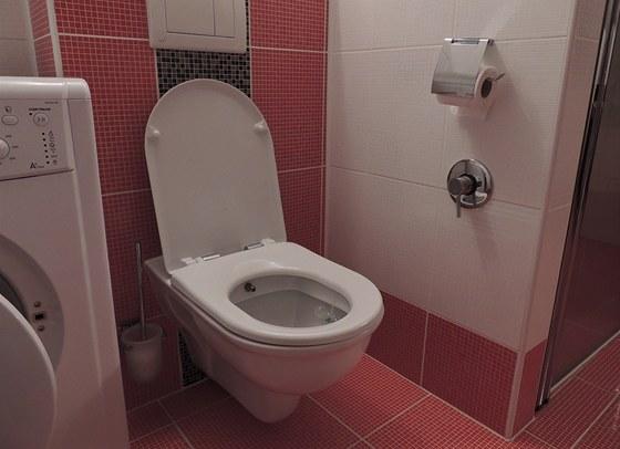 Do blízkosti toalety je potřeba přivést teplou a studenou vodu. Pro ovládání