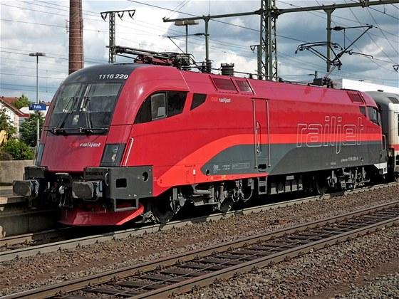 Chlouba rakouských železnic, souprava RailJet