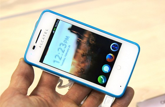 Alcatel OneTouch Fire s Firefox OS
