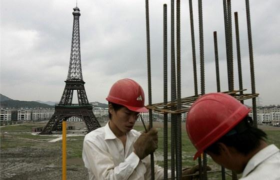 S replikou Paříže se můžete setkat u města Chang-čou, které je správním střediskem provincie Če-ťiang v jihovýchodní Číně.