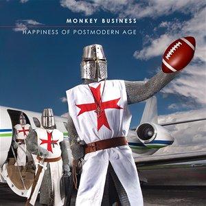 Nezávadný obal nové desky Monkey Business upravený speciálně pro iTunes.