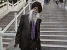 101letý běžec Fauja Singh v civilu.