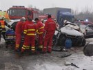 Tragick� nehoda u Nov�ho Ji��na (22. �nora 2013)