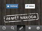 Aplikace Pam� n�roda pro chytr� telefony a tablety