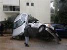 Záplavy v Aténách a okolí