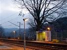 Železniční zastávka vBrňově