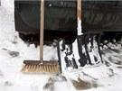 Sníh v Teplicích (24. února 2013)