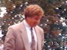 Snímek, který 8. září 1995 pořídila v Brně policie. Zachycuje Borise Štefla,